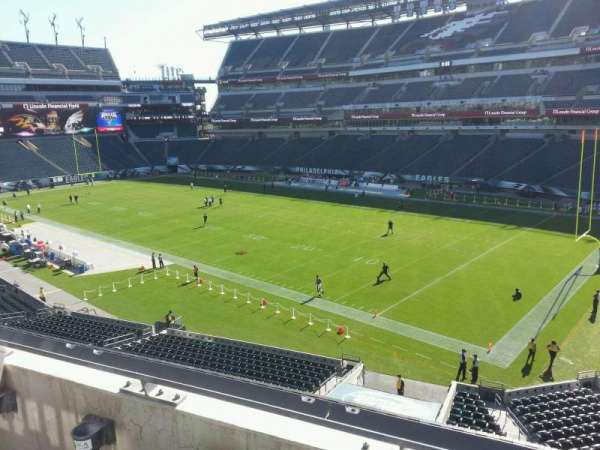Lincoln Financial Field, section: c27, row: 2, seat: 13