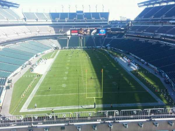 Lincoln Financial Field, section: 235, row: 9, seat: 10