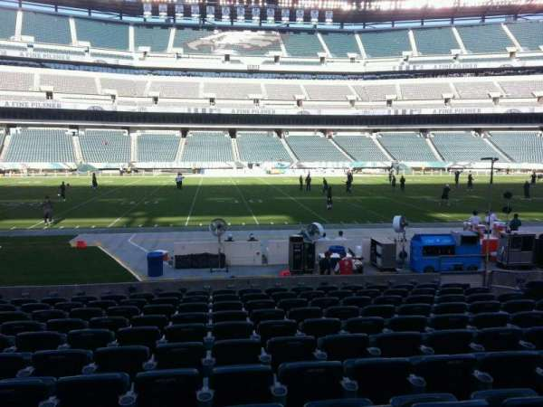 Lincoln Financial Field, section: 138, row: 11, seat: 10