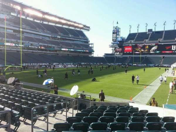 Lincoln Financial Field, section: 113, row: 11, seat: 7