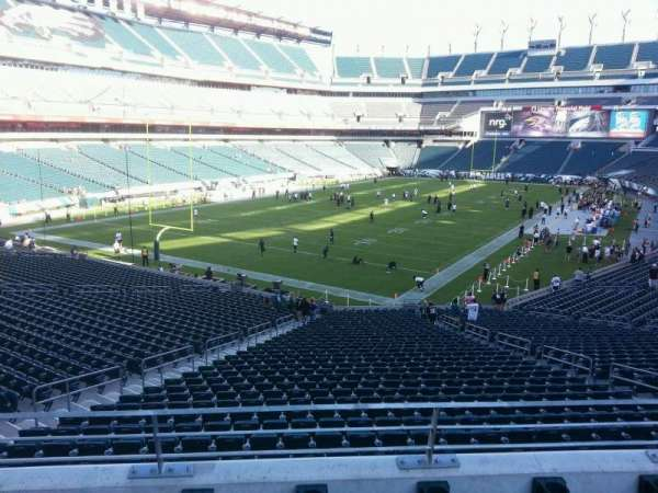 Lincoln Financial Field, section: 132, row: 37, seat: 10