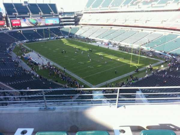 Lincoln Financial Field, section: Miller Lite Phlite Deck