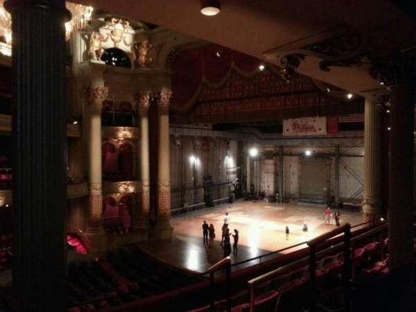 Academy of Music, section: balcony c, row: c, seat: 34