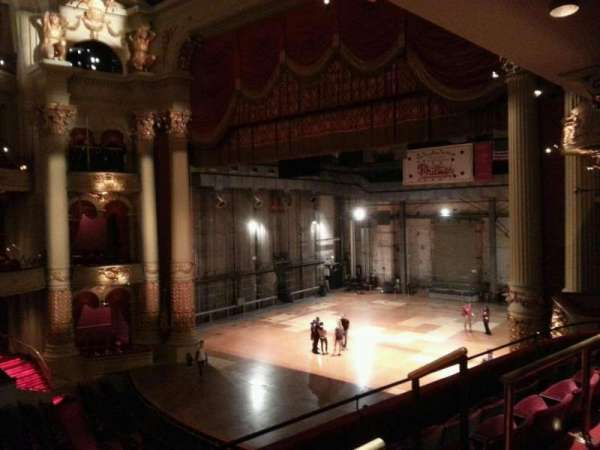 Academy of Music, section: balcony b, row: b, seat: 48