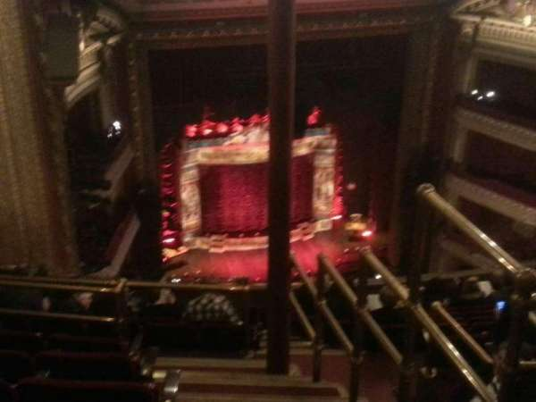 CIBC Theatre, section: Balcony LC, row: n, seat: 1