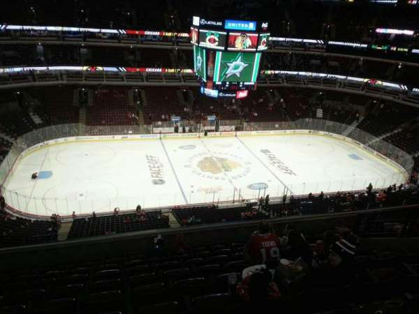 United Center, section: 319, row: 10, seat: 9