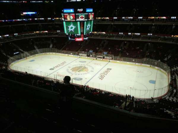 United Center, section: 315, row: 7, seat: 8
