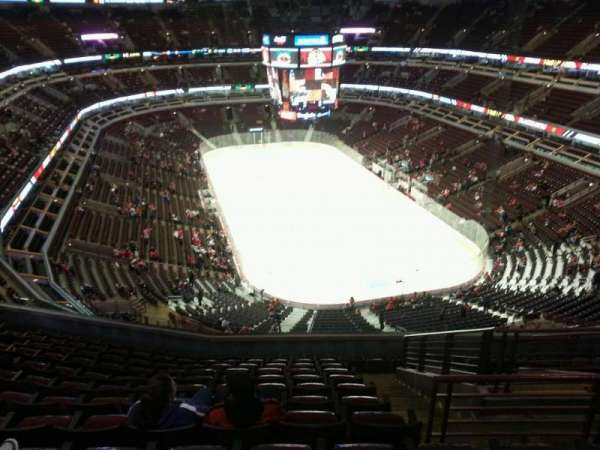 United Center, section: 311, row: 12, seat: 6