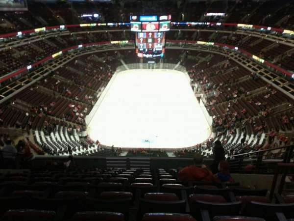United Center, section: 309, row: 12, seat: 6
