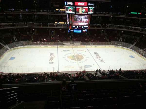 United Center, section: 301, row: 8, seat: 14