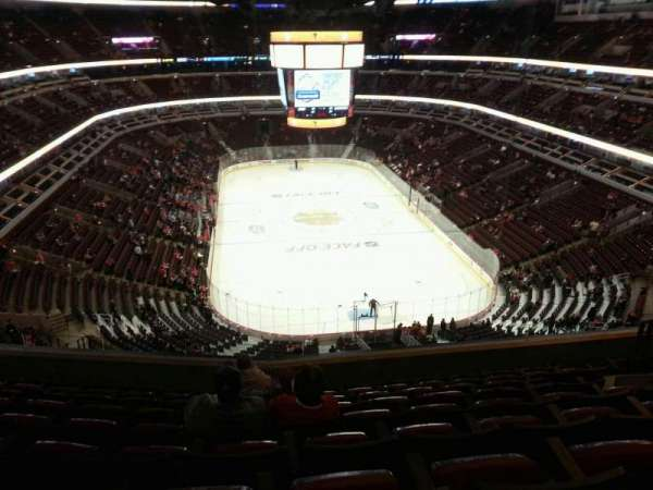 United Center, section: 327, row: 10, seat: 9
