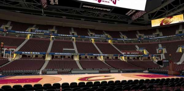Rocket Mortgage FieldHouse, section: 121, row: 5