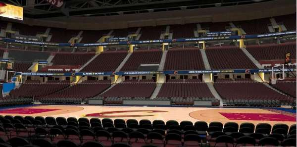 Rocket Mortgage FieldHouse, section: 109, row: 5
