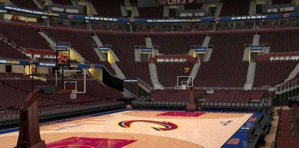 Rocket Mortgage FieldHouse, section: 120, row: 6