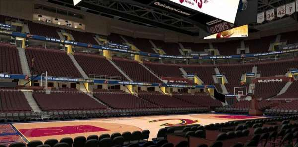 Rocket Mortgage FieldHouse, section: 122, row: 5