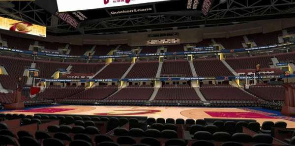 Rocket Mortgage FieldHouse, section: 119, row: 5