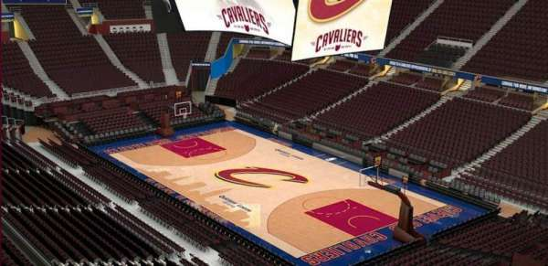Quicken Loans Arena, section: 213, row: 3