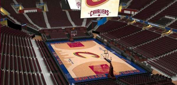 Quicken Loans Arena, section: 215, row: 3