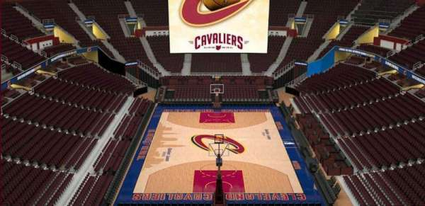 Quicken Loans Arena, section: 217, row: 3