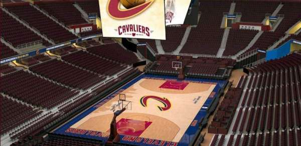 Quicken Loans Arena, section: 219, row: 3