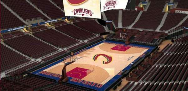 Quicken Loans Arena, section: 220, row: 3