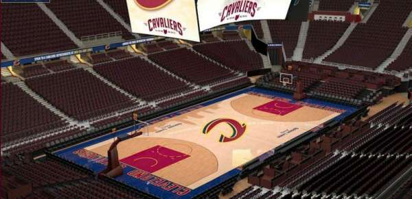 Quicken Loans Arena, section: 221, row: 3