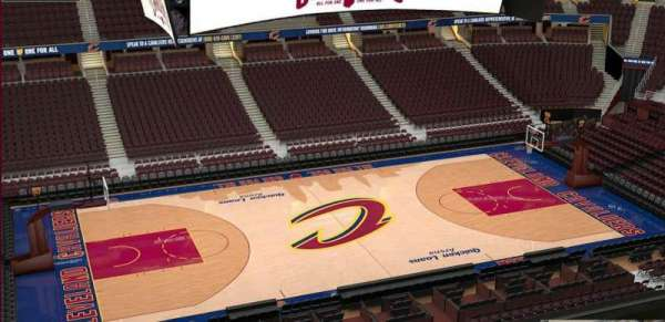 Quicken Loans Arena, section: 224, row: 3