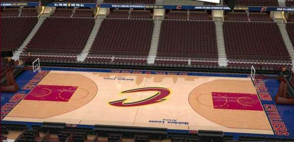 Quicken Loans Arena, section: 226, row: 3