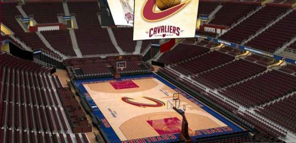 Quicken Loans Arena, section: 232, row: 3