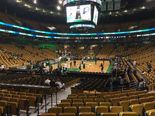 TD Garden, section: Loge 17, row: 11, seat: 8