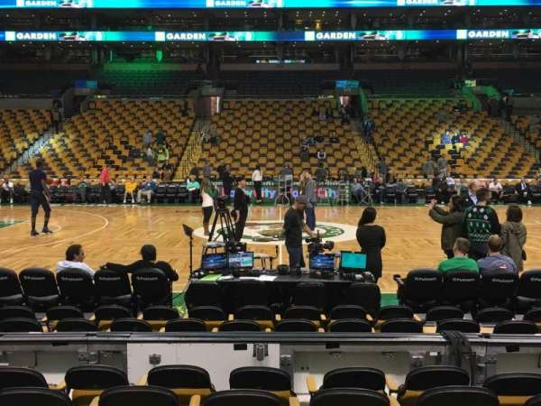 TD Garden, section: Loge 12, row: 6, seat: 10
