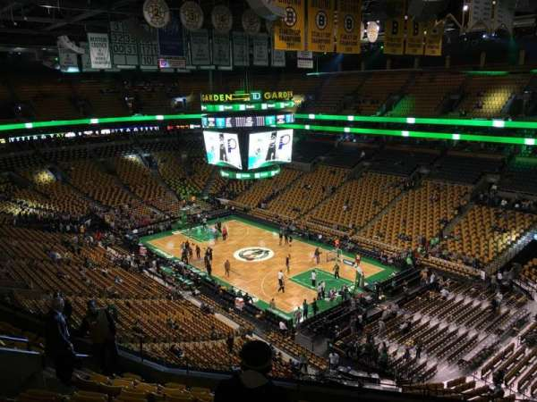 TD Garden, section: Bal 327, row: 10, seat: 10