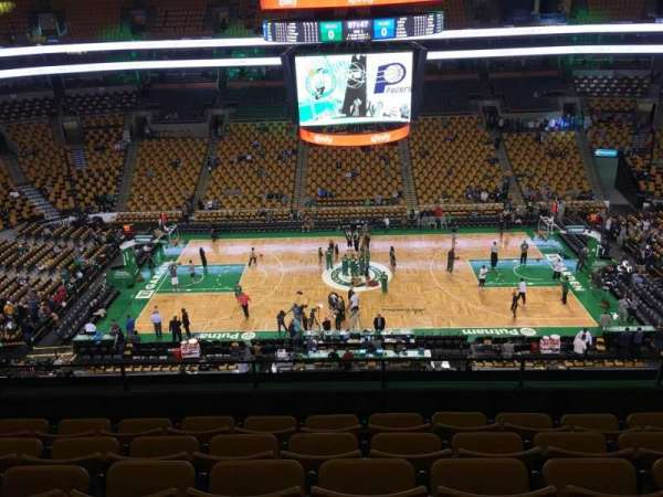 TD Garden, section: Bal 301, row: 6, seat: 8