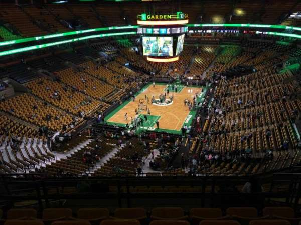 TD Garden, section: Bal 307, row: 11, seat: 12