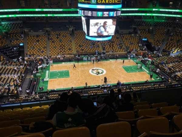 TD Garden, section: Bal 317, row: 11, seat: 9