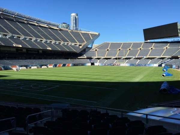Soldier Field, section: 119, row: 12, seat: 5