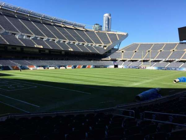 Soldier Field, section: 117, row: 11, seat: 11