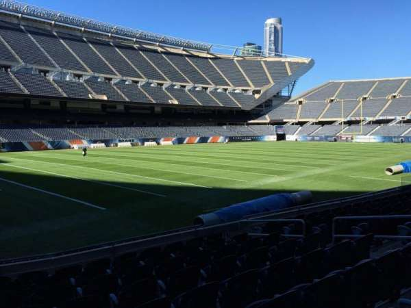 Soldier Field, section: 115, row: 9, seat: 9
