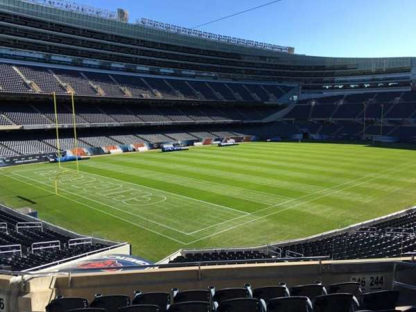 Soldier Field, section: 246, row: 7, seat: 6