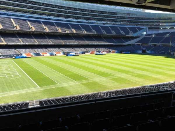 Soldier Field, section: 243, row: 6, seat: 13