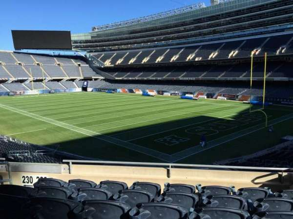 Soldier Field, section: 228, row: 6, seat: 5
