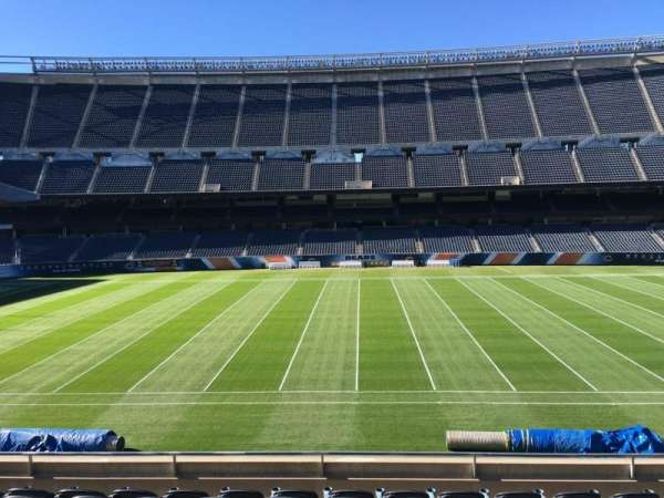 Soldier Field, section: 209, row: 8, seat: 12