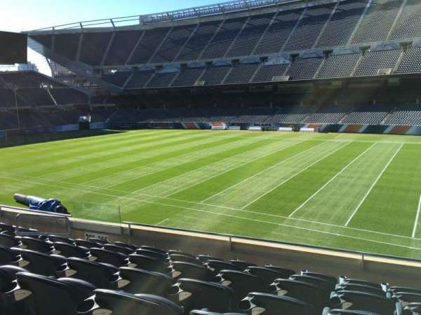 Soldier Field, section: 205, row: 7, seat: 9