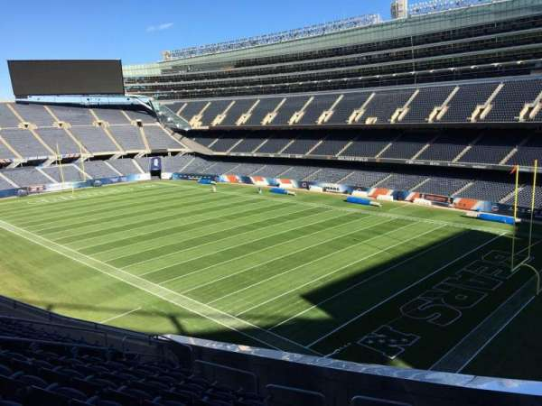 Soldier Field, section: 330, row: 11, seat: 13