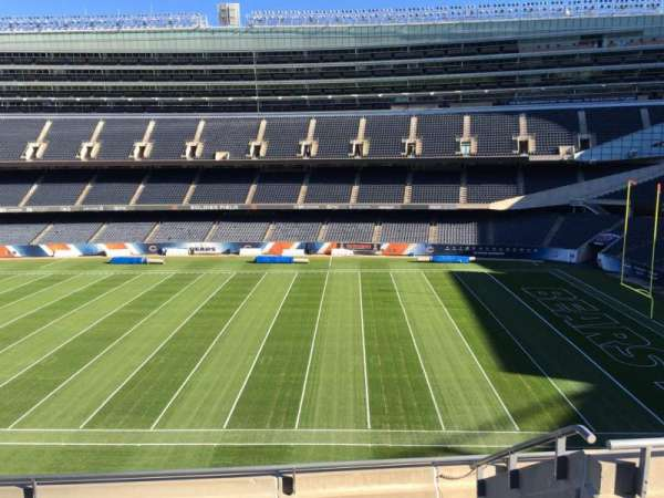 Soldier Field, section: 334, row: 6, seat: 10