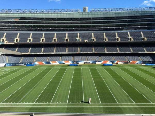Soldier Field, section: 338, row: 6, seat: 9