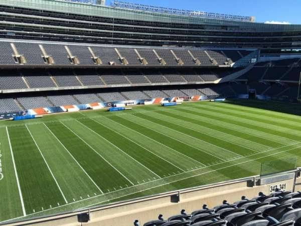 Soldier Field, section: 342, row: 6, seat: 9