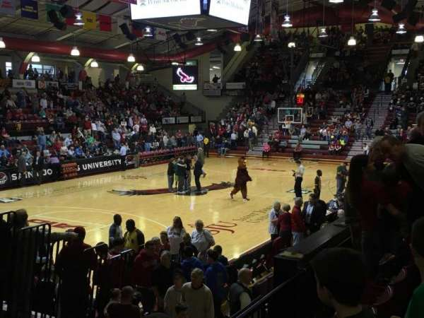 Hagan Arena, section: 215, row: 3, seat: 14