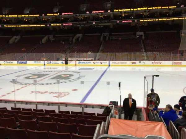 Wells Fargo Center, section: 102, row: 11, seat: 13