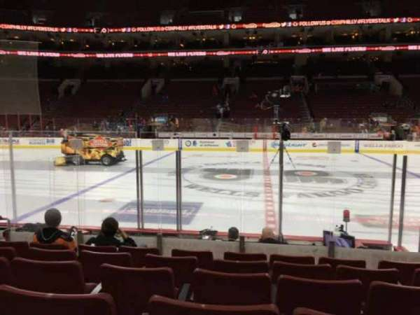 Wells Fargo Center, section: 113, row: 8, seat: 8